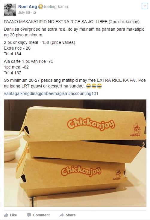 Jollibee chickenjoy foodhack
