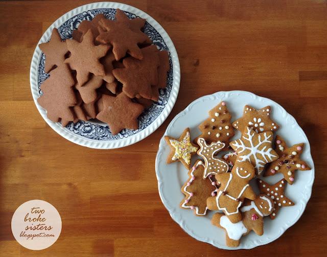 pierniki świąteczne przepis twobrokesisters