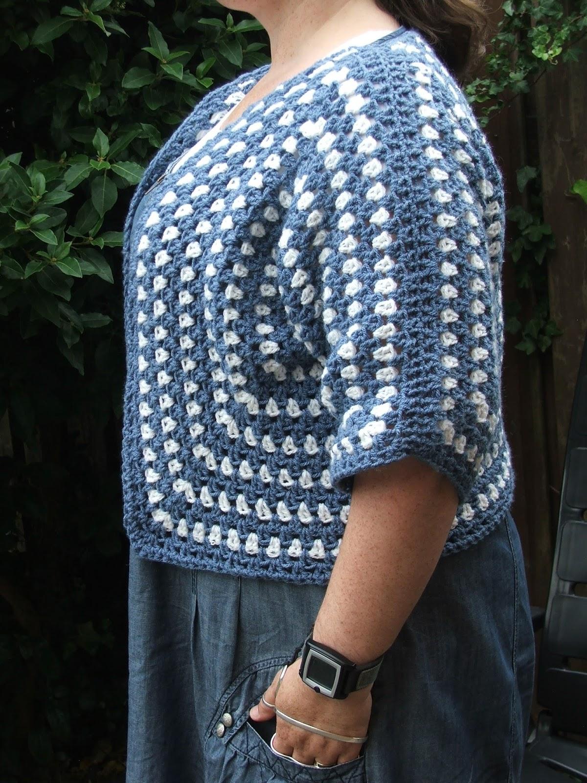 Authicraft Gehaakt Vestje Met Granny Zeshoeken