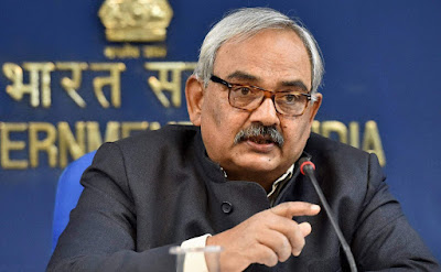 Rajiv Mehrishi Takes Charge  of Comptroller and Auditor General