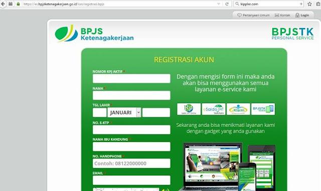 Formulir Pendaftaran BPJS Ketenagakerjaan