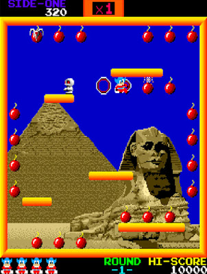 Bomb Jack Arcade Archives HAMSTER Nintendo Switch