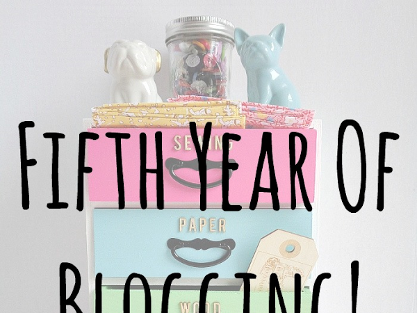 Fifth Year Of Blogging!
