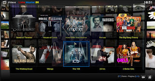 Add-On - Lista Master BR - KODI - Canais, Filmes, Séries e muito mais