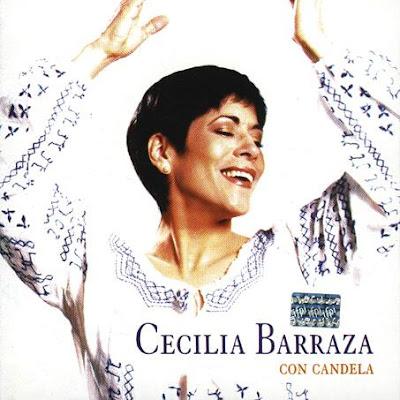 Foto de Cecilia Barraza en portada de disco