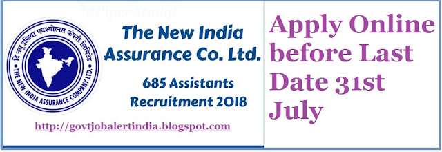 New India Assurance Recruitment 2018