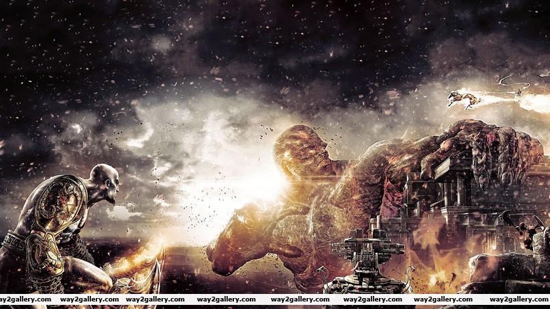 The big monster wallpaper