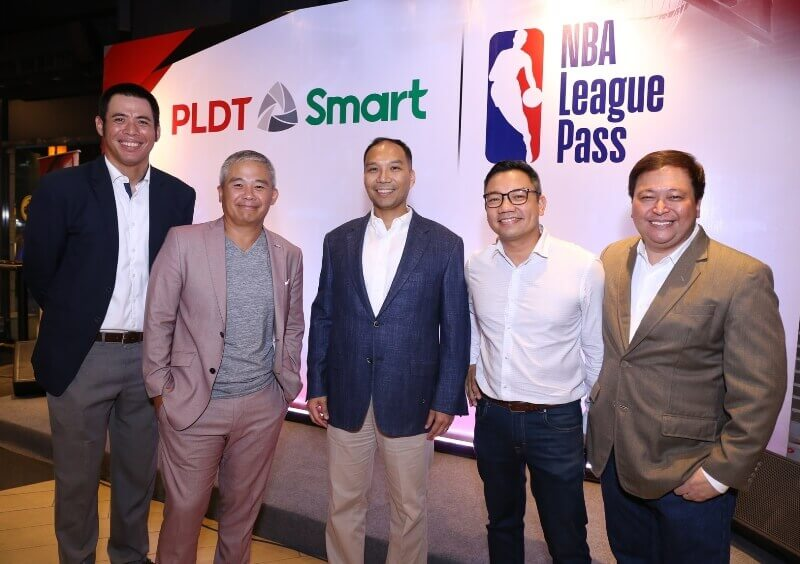 NBA Teams Up with Smart, PLDT to Offer NBA League Pass for As Low As Php50