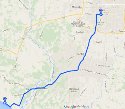 rute menuju desa wisata imorenggo
