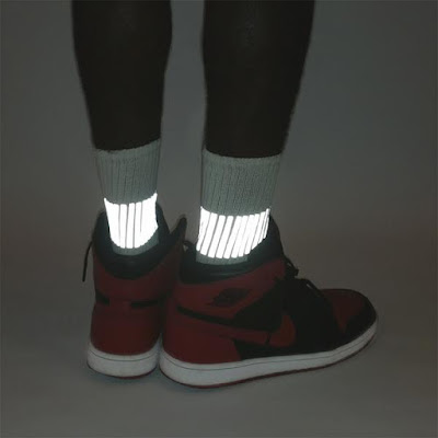 Reflective Band Socks
