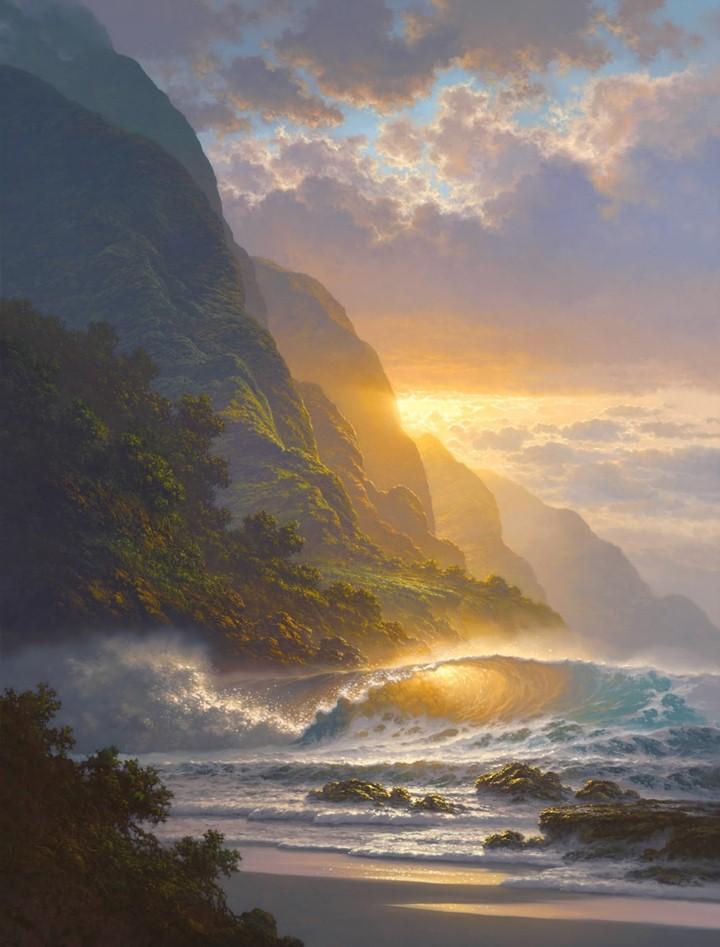 Roy Tabora. Морские пейзажи 15