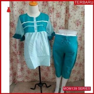 MOM139B15 Baju Setelan Hamil Della Menyusui Bajuhamil Ibu Hamil