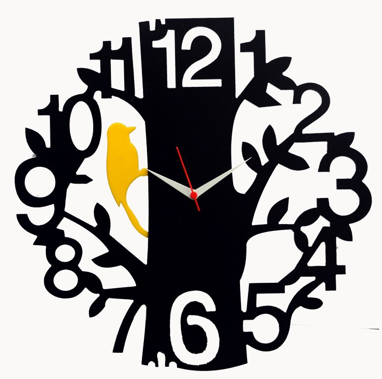 NEW WALL CLOCK FREE DXF FILE - FREE DXF FILES