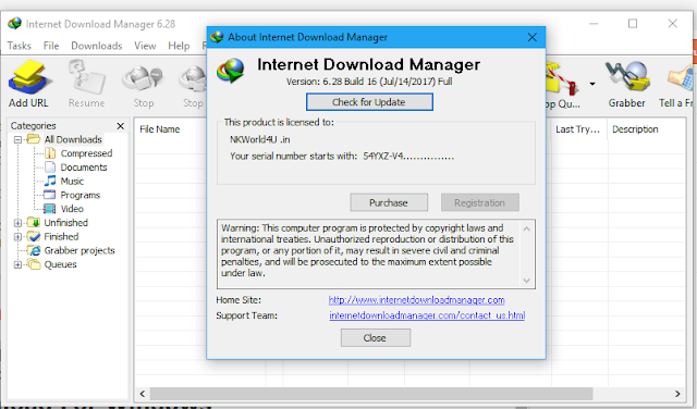Internet Download Manager [IDM] v6.28 Build 17 http://www.nkworld4u.in/ nkw Final - Full Version - Pre-Activated - Free Download  crack narendra sharma