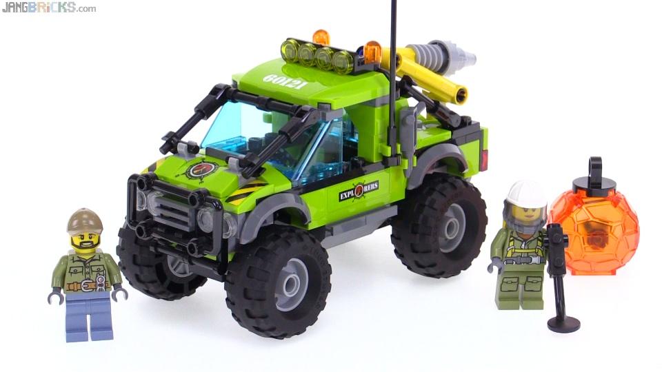 LEGO City Volcano Exploration Truck review! 60121