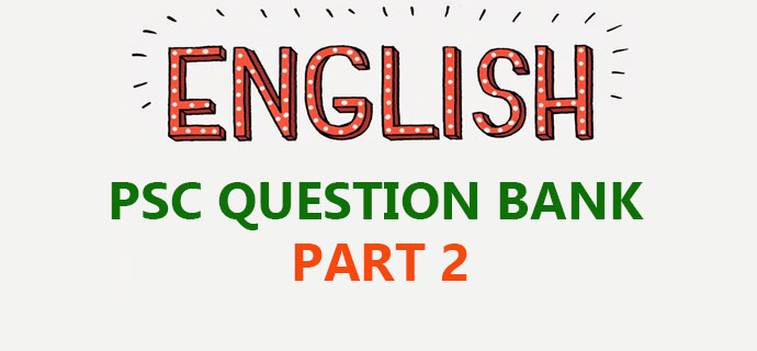 PSC General English Part 2