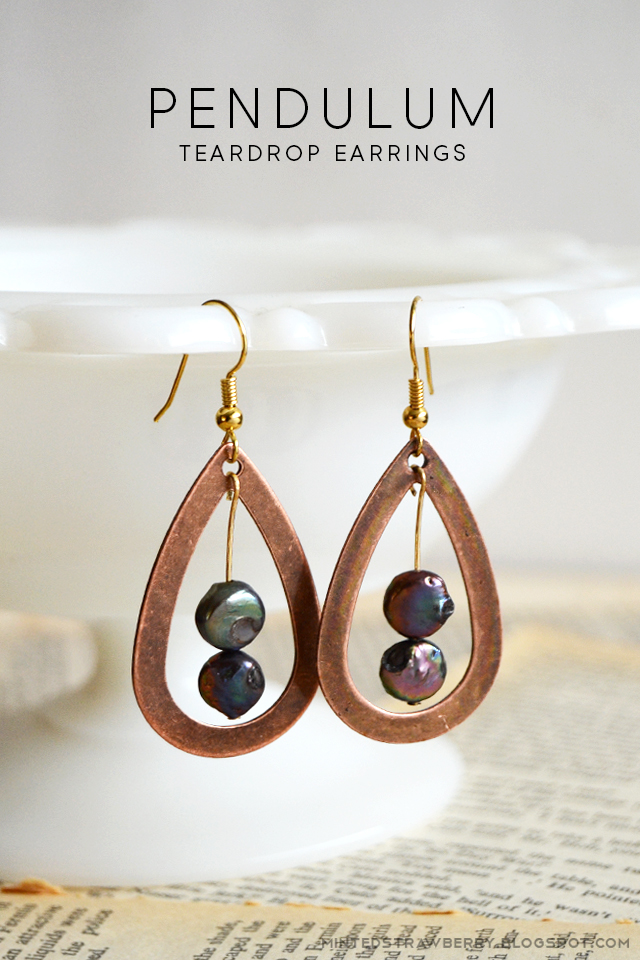 how to make pendulum earrings