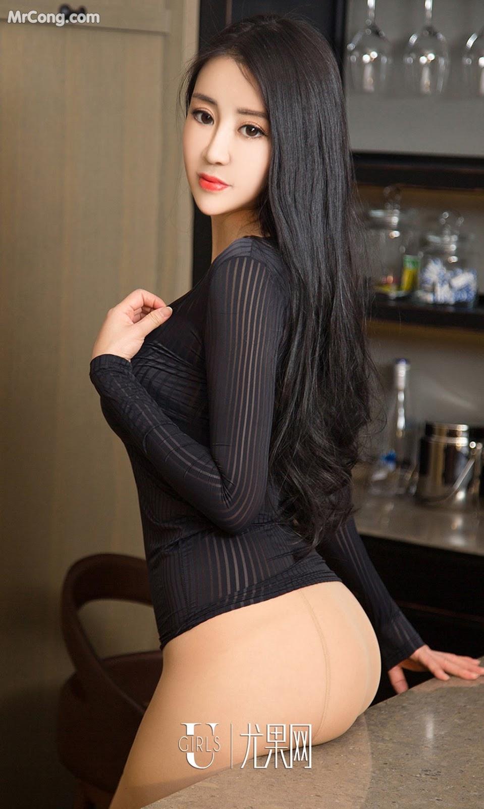 Image UGIRLS-Ai-You-Wu-App-No.963-Zhang-Yang-Yang-MrCong.com-003 in post UGIRLS – Ai You Wu App No.963: Người mẫu Zhang Yang Yang (张阳阳) (40 ảnh)