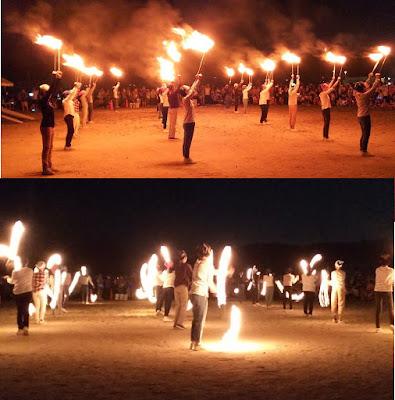 FIREダンス