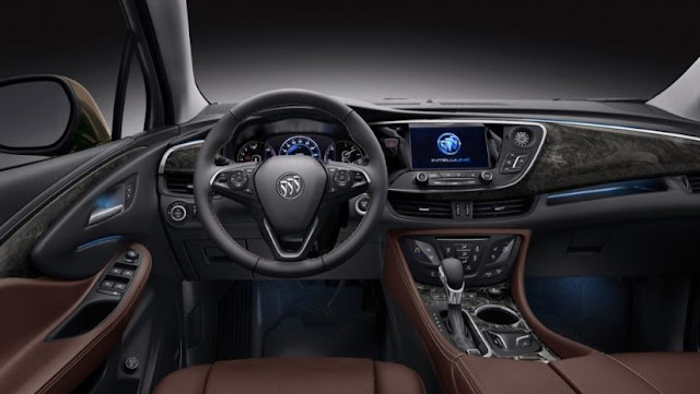 2017  interior Buick Envision Reviews