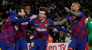 سيتين يحقق الانتصار الاول له مع برشلونة على غرناطة باقدام ميسي في الدوري الاسباني