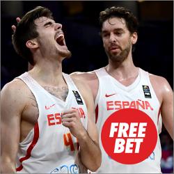 circus promocion mundobasket 2019 España vs Montenegro 26 febrero