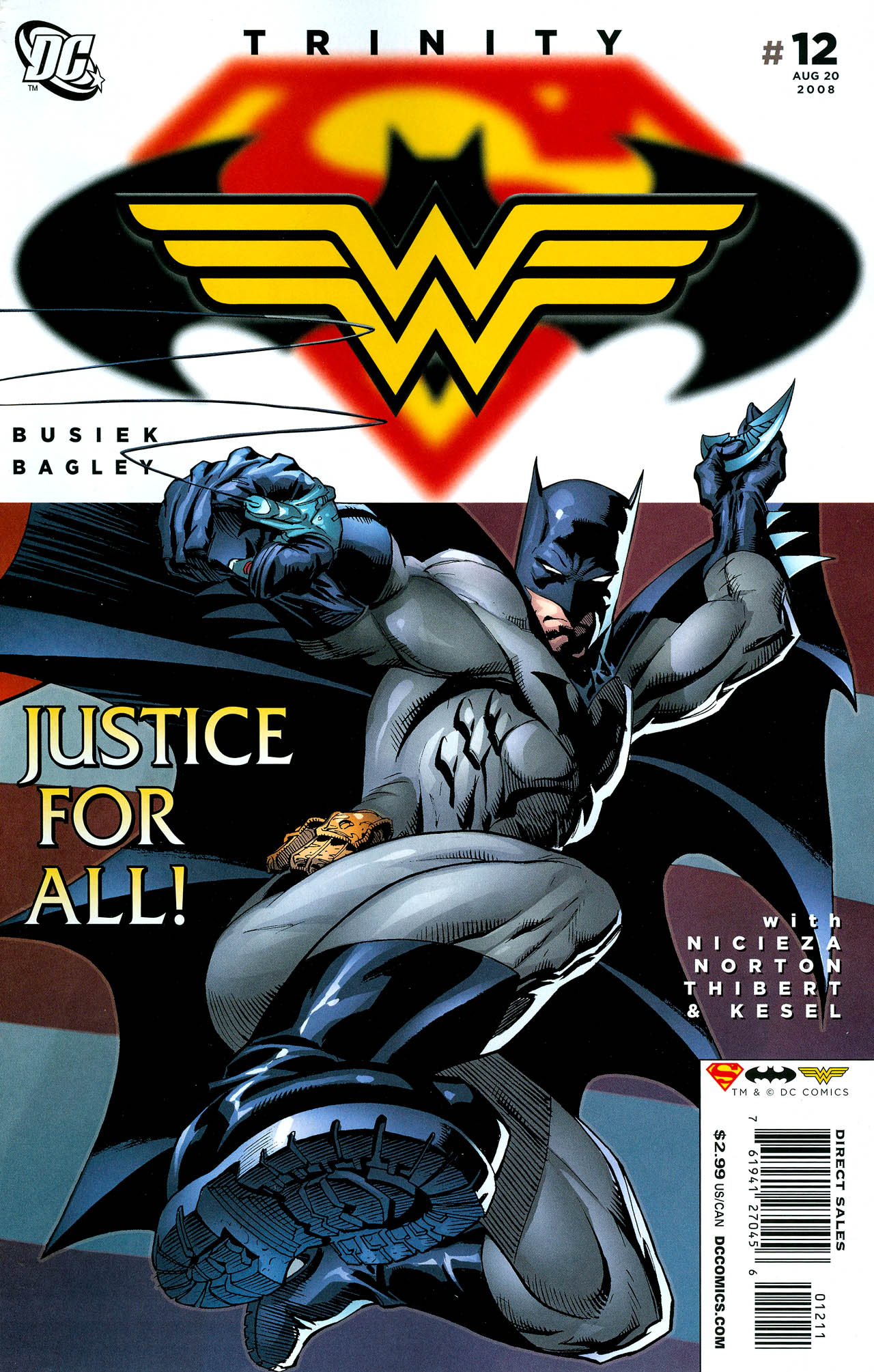 Read online Trinity (2008) comic -  Issue #12 - 1