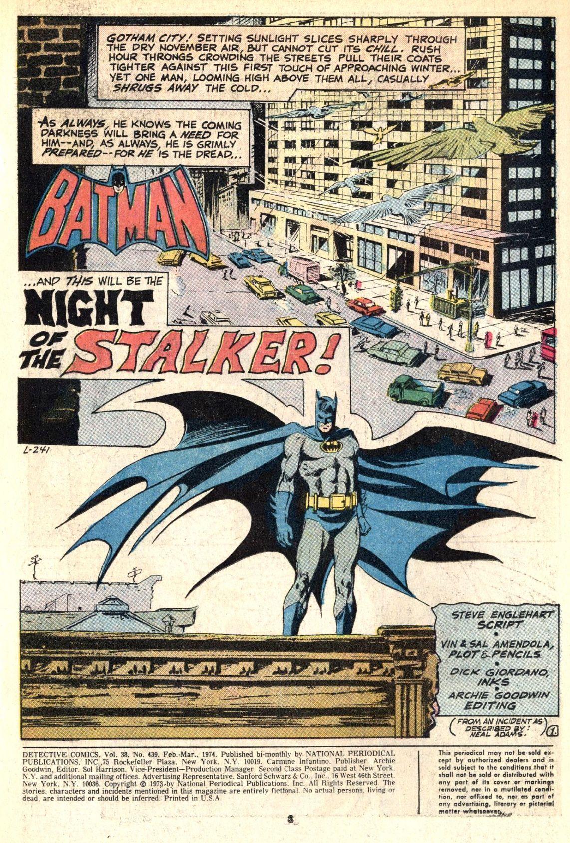 Detective Comics (1937) 439 Page 2