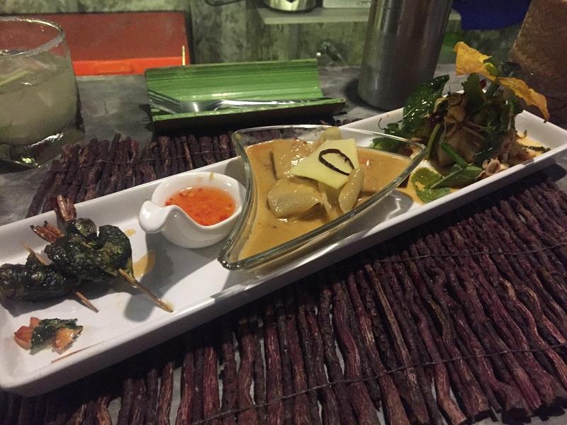 Thai tapas at Time for Lime, Ko Lanta