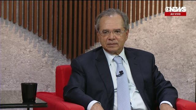 """Paulo Guedes sugere que a oposição pensa """"em bando"""""""