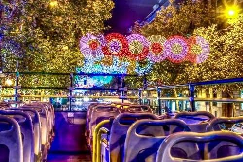 Naviluz - Autobús luces de Navidad