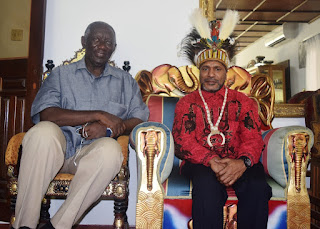 Press Release: West Papuan Independence Leader Benny Wenda visits Ghana