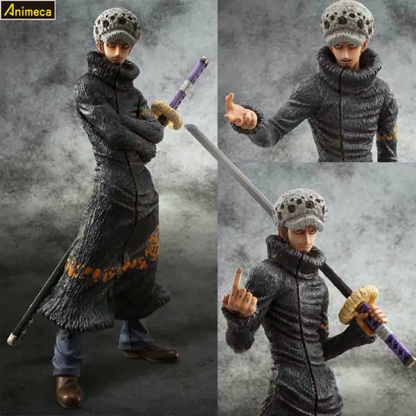 FIGURA TRAFALGAR LAW Sailing Again EXCELLENT MODEL P.O.P ONE PIECE