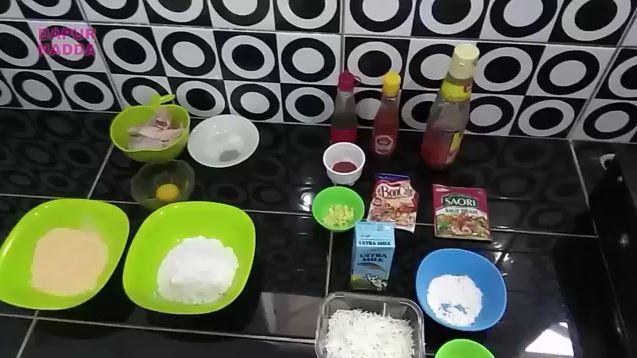 Ayam Richeese bahan bahan