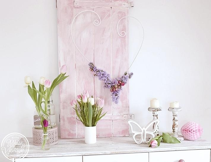 Romantische Frühlingsdeko-Ideen in zarten Pastelltönen.