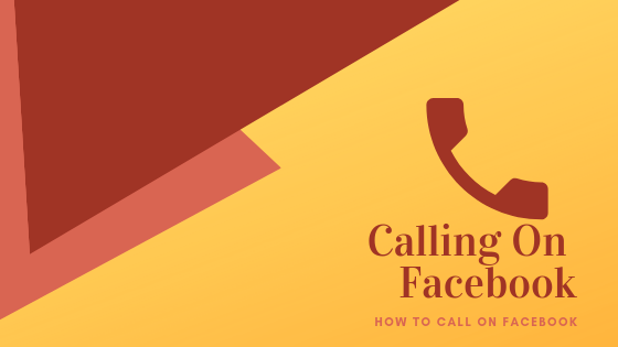 How To Make A Facebook Call<br/>