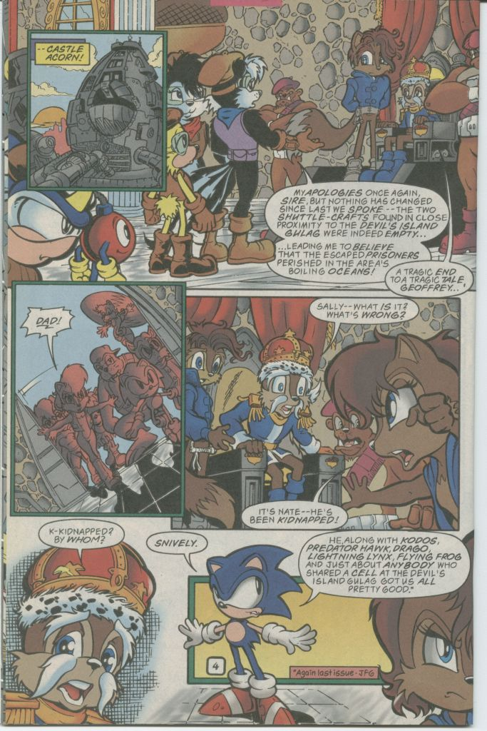 Read online Sonic The Hedgehog comic -  Issue #70 - 6