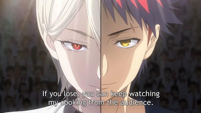 Nakiri Alice versus Yukihira Souma