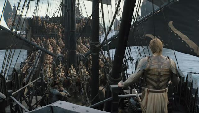 juego de tronos trailer de la octava temporada flota de hierro