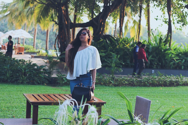 Off shoulder top, ripped jeans, how to style off shoulder top, indian travel blogger, delhi fashion blogger, goa travel diary, fashion trends 2017,indian blogger, travel blogger, ASOS india,Goa travel diary, Goa outfits, alila diva goa,delhi fashion blogger, best beaches in goa, where to eat in goa, south goa beaches, north goa beaches, goa travel, indian travel blogger, travel bloggers delhi, indian blogger,best of goa,fashiongram,fashionpost,goa,sogoa,Fashion,lookoftheday,ootd,outfitoftheday,outfitpost,blogger,whatiworetoday,indiantravelblogger,Instafollow,goatourism,mygoa,goadiaries,styleblogger,instadaily,pickmygoapick,igers ,gforgoa #photooftheday,escape2goa,lovemyjob