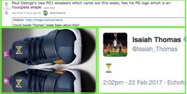 9498120fbd8 Isaiah Thomas makes a tweet and the whole world goes crazy. Suddenly