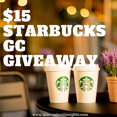 Starbucks GC Giveaway