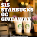 $15 Starbucks Gift Card Giveaway & New Year Cheer Giveaway Hop