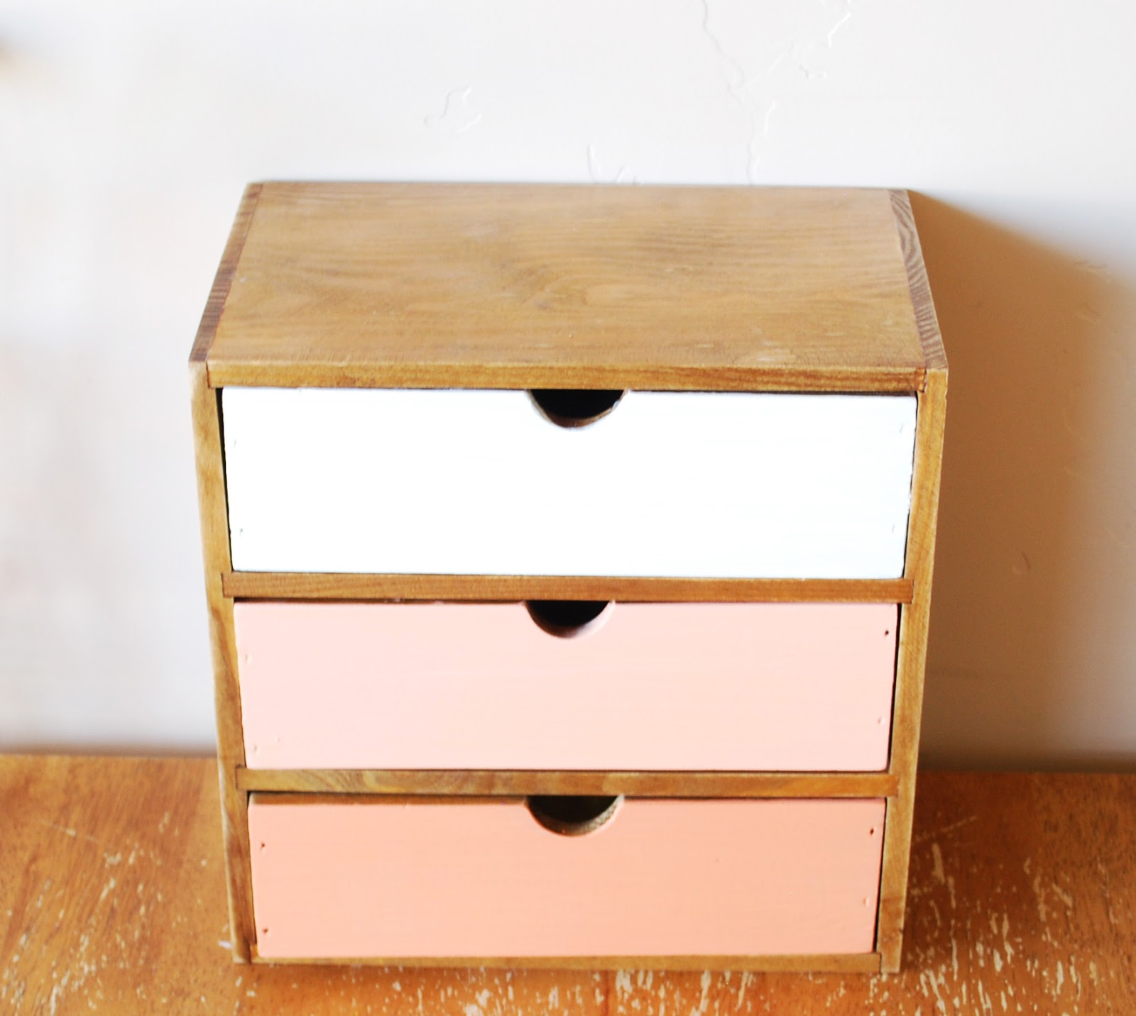 Mama Do That Small Drawers Diy Orange Ombre