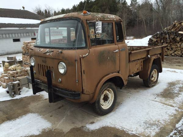1960 Jeep Fc150 4x4 Truck Project For Sale 4x4 Cars