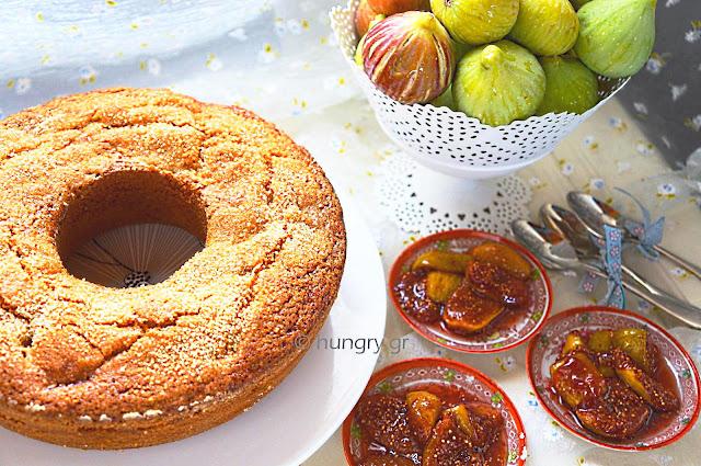 Fig Cake & Fresh Fig Preserves