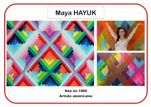 Maya Hayuk - Portrait d'artiste en maternelle