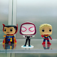 Toy Fair doctor strange, SpiderGwen y Capitan Marvel