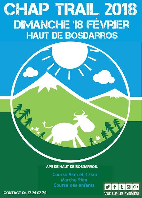 CHAP TRAIL Haut de Bosdarros 2018
