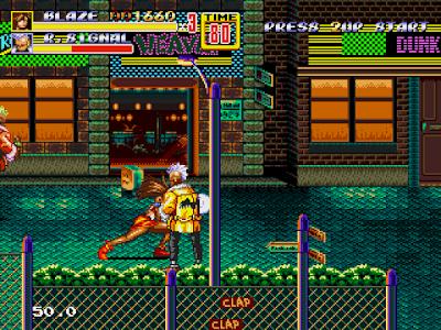 【MD】怒之鐵拳2原版+威力加強版,卡普空經典格鬥動作遊戲!